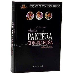 Dvd Box Coleção A Pantera Cor-de-rosa (6 Discos)