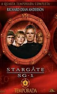 BOX DVD Stargate SG.1 - 4ª Temporada (6 DVDs)