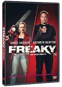 DVD FREAKY - NO CORPO DE UM ASSASSINO