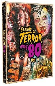 DVD Duplo Sessão de Terror Anos 80 - Vol.4