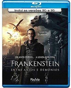 Blu-Ray 2D/3D Frankenstein - Entre Anjos E Demônios