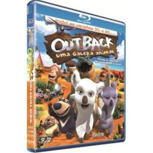 Blu-Ray 2D/3D - Outback - Uma Galera Animal