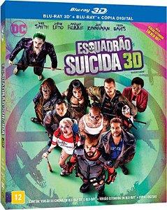 Blu-ray (3D + 2D) - Esquadrão Suicida - Versão Estendida