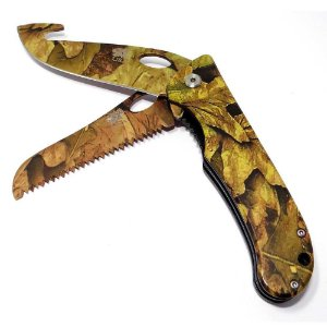 Canivete Explorer Lâmina Serrilhada Folhagem