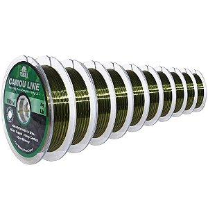 1000m Linha Monofilamento Camou Line 0,30mm contínuos