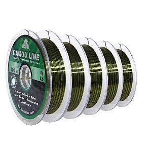 500m Linha Monofilamento Camou Line 0,50mm contínuos