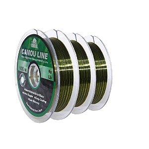 300m Linha Monofilamento Camou Line 0,50mm contínuos