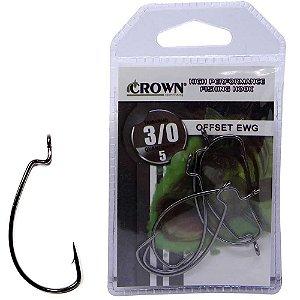 Anzol Crown Offset Ewg 3/0 c/ 05 un.