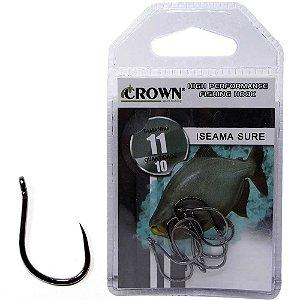 Anzol Crown Iseama Sure Black 11 c/ 10 un.