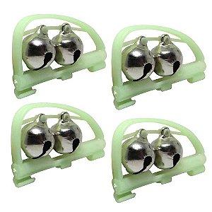 kit 4 Guizo Plastico Duplo 8015 p/ Varas