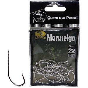 Anzol Lizard Maruseigo N 22 c/ 15 un. Lf3ma22