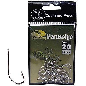 Anzol Lizard Maruseigo N 20 c/ 15 un. Lf3ma20