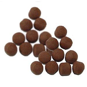 Kit 20 Flutuador Bolinha Chocolate 342