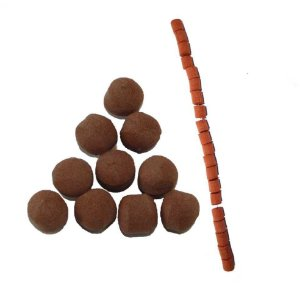 Kit 30 Flutuador Bolinha Chocolate + Flutuador com guia 322