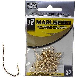 Anzol Marine Sports Maruseigo Gold n. 12 com 50