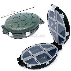 Estojo HI tartaruga azul