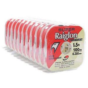 1000m Linha Monofilamento Super Raiglon 0,205mm 1.5