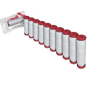 10 Elastano p/ fixar iscas (elastricot) c/ 110m cada