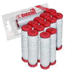 12 Elastano p/ fixar iscas (elastricot) - unidade c/ 110m