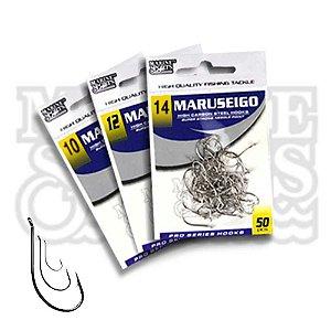 150 Anzol Marine Sports Maruseigo Nickel - Nr 10, 12 e 14