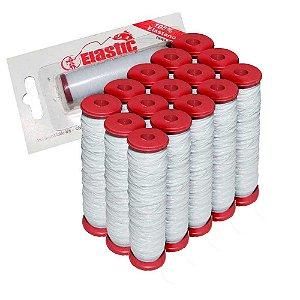 15 Elastano p/ fixar iscas (elastricot) - unidade c/ 110m