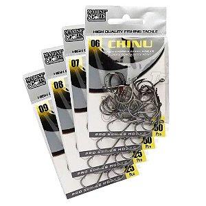 160 Anzol Marine Sports Chinu Black Nº 6,7,8,9