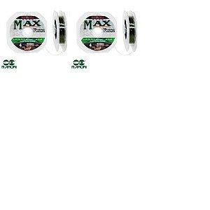 1x Linha Maruri Max Force Nylon 0,26mm - 100m + 1x 0,31mm