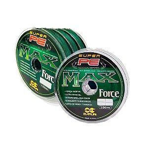 1x Linha multifilamento Maruri Max Force 0,60mm + 3x 0,26mm