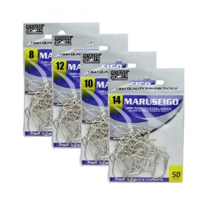 200 Anzol Marine Sports Maruseigo Nickel Nº 8,10,12,14