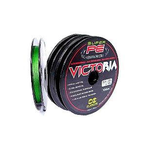 200m Linha multifilamento Victoria 0,18mm 24lb 15,87kg