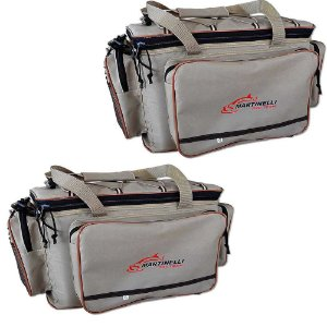 2 Bolsa de Pesca Martinelli Pro-Team G - Cor: bege