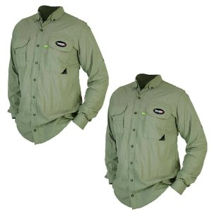 2 Camisa MTK Sky manga longa UVA e UVB Tam: EX Cor: verde