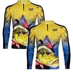 2 Camiseta de Pesca King 60 - Tucunaré - Tam: 03 - G