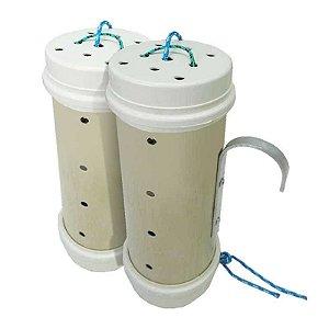 2 Tratadores (cevador) PVC 4 pol. Grande