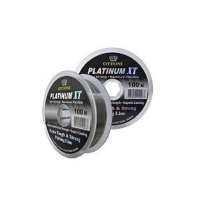 300m Linha Monofilamento Platinum XT - 0,20mm 5,43kg