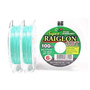 300m - Linha mono Super Raiglon Soft 0,37mm 22,1 lb