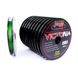 300m Linha multifilamento Victoria 0,18mm 24lbs 10,88kg
