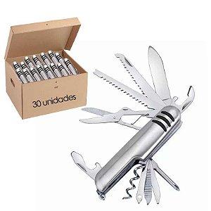 30 Canivetes Inox multifuncional 11 Funções tipo Suíço
