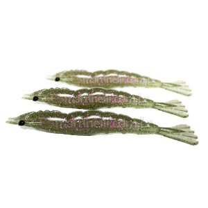 3 Isca artificial Camarão JET Shrimp Nihon 11cm - 20 Ferrao