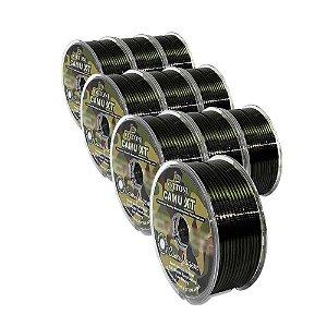 3X Linha Mon Camu 0,25mm + 3x 0,30mm + 3x 0,35mm + 1x 0,60mm