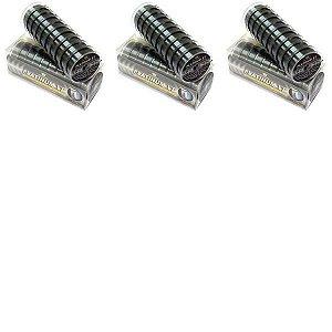 3x Linha Monof Platinum 0,35mm 100m + 3x 0,40mm + 4x 0,50mm