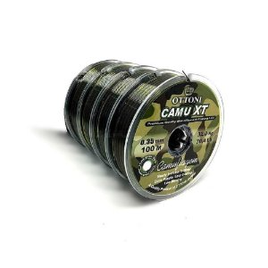 400m de Linha Monofilamento Camu XT 0,35mm - 34,3 lbs