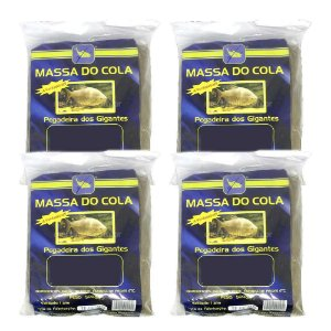 4X Massa para pesca Do Cola - 500 gramas - tradicional