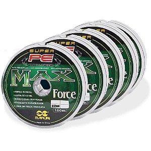 500m Linha multifilamento Maruri Max Force 0,52mm 112b