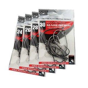 50 Anzol Marine Sports Super Maruseigo Black Nº 24,26,28,30