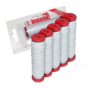 5 Elastano p/ fixar iscas (elastricot) - unidade c/ 110m