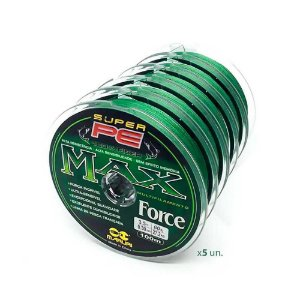 5 Linha multifilamento Maruri Max Force 0,30mm 44lb 100m verde