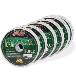 600m Linha multifilamento Maruri Max Force 0,52mm 112lb