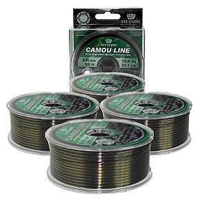 800m Linha Monofilamento Camou Line 0,45mm box 200m