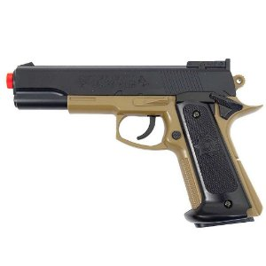 Airsoft Pistola Cybergun Colt Mk Iv Tan 6mm Pn17 180124
